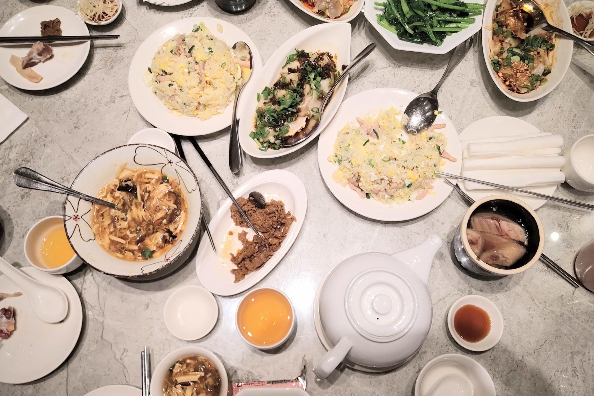 中華料理atザプレイス台湾3