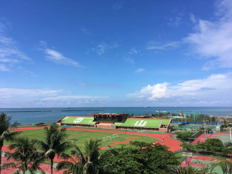 学校からの風景(中山大学)
