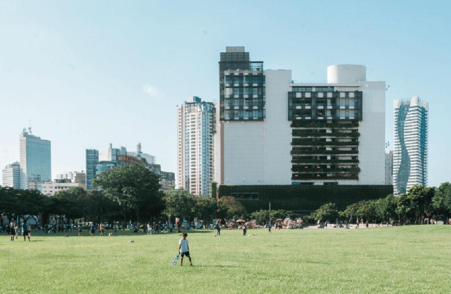 勤美誠品緑園道と市民広場 (提供:草悟道生活圈)