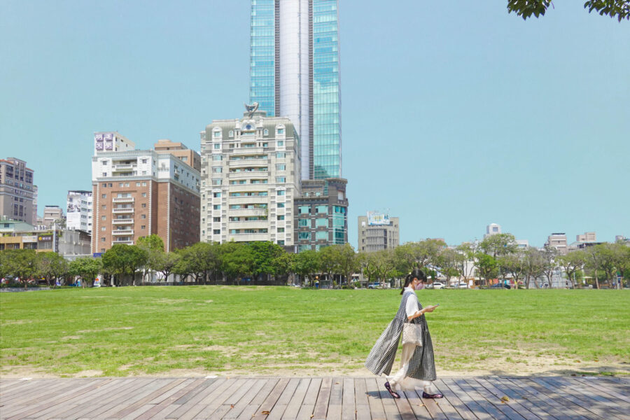 台中市西区  市民広場
