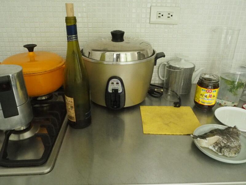 kitchenになじむ電鍋